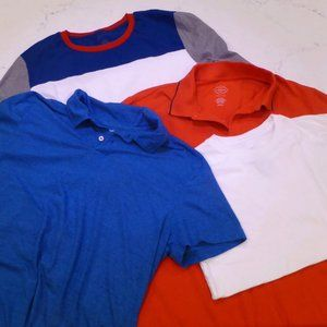 Set of four men's shirts